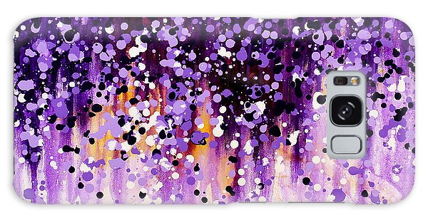 Wisteria Galaxy Case by Kume Bryant