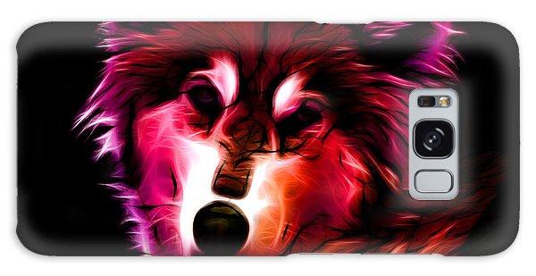 Wolf - Red Galaxy Case