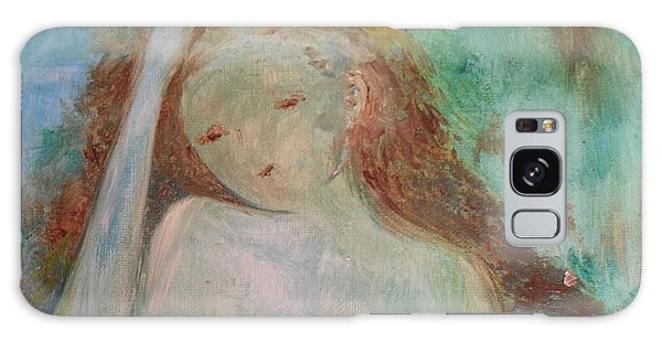 Woman Of Sorrows Galaxy Case by Laurie L
