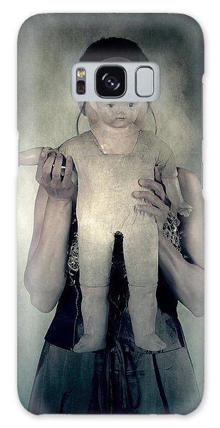 Hiding Galaxy Case - Woman With Doll by Joana Kruse