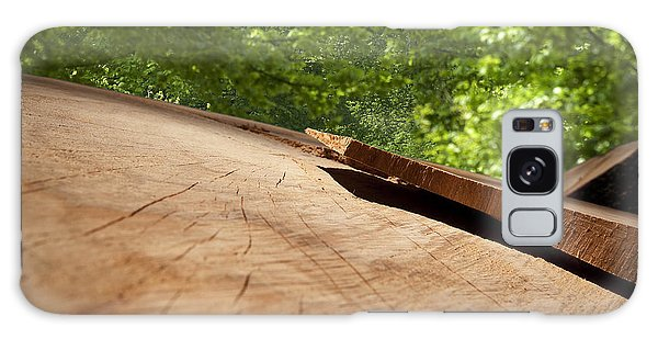 Wood Forest Galaxy Case by Michael Mogensen