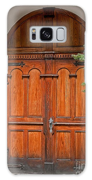 Wooden Double Doors Archway Galaxy Case