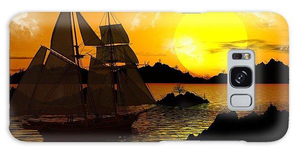 Wooden Ships Galaxy Case