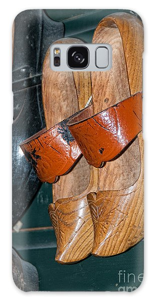 Wooden Shoe Sandals Galaxy Case by Carol Ailles