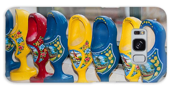 Wooden Shoes Galaxy Case by Carol Ailles