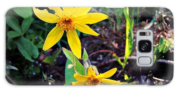 Woods Flower Galaxy Case