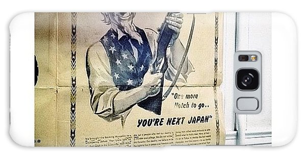 Ohio Galaxy Case - Ww2 Vintage War Bonds Advertising by Natasha Marco