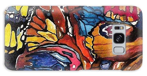 Galaxy Case - Butterflies Wings........ by Sandra Lira