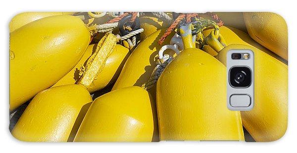 Yellow Buoys Galaxy Case