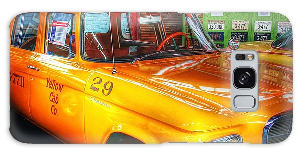 Yellow Cab No.29 Galaxy Case by Dan Stone