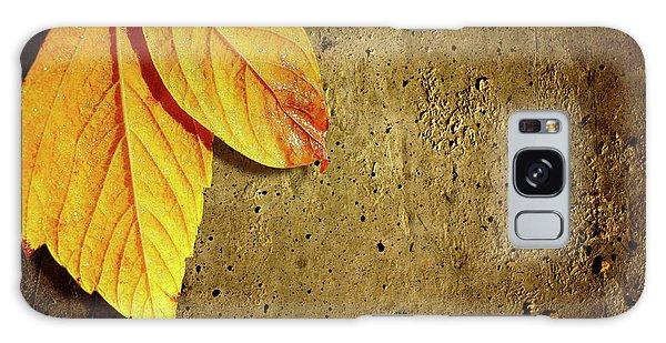 Mottled Galaxy Case - Yellow Fall Leafs by Carlos Caetano