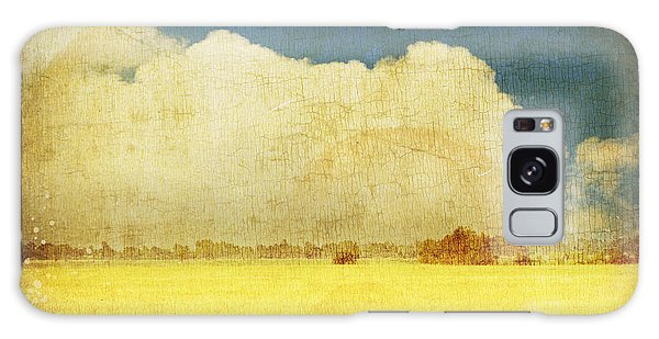 Cloud Galaxy Case - Yellow Field by Setsiri Silapasuwanchai