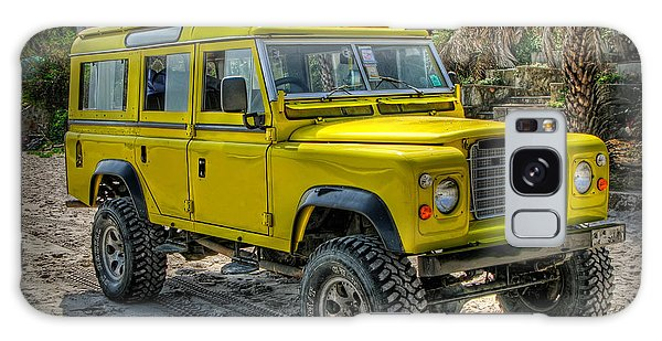 Yellow Jeep Galaxy Case
