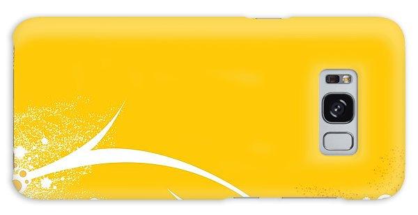 Yellow Twigs Galaxy Case
