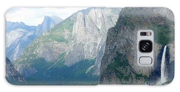 Yosemite Bridalveil Fall Galaxy Case