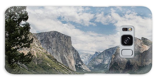 Yosemite Valley From Tunnel View At Yosemite Np Galaxy Case