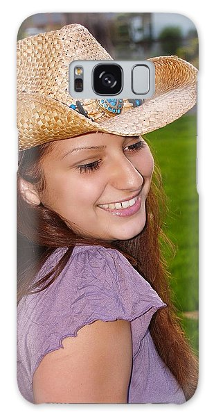 Young Jasmin Galaxy Case