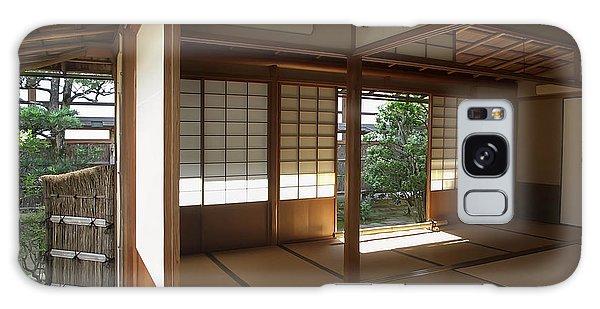 Kansai Galaxy Case - Zen Meditation Room Open To Garden - Kyoto Japan by Daniel Hagerman