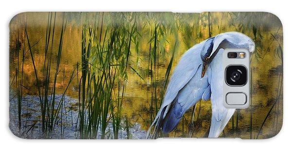 Zen Pond Galaxy Case by Melinda Hughes-Berland