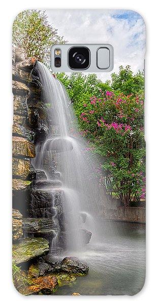 Zoo Waterfall Galaxy Case by Nicolas Raymond