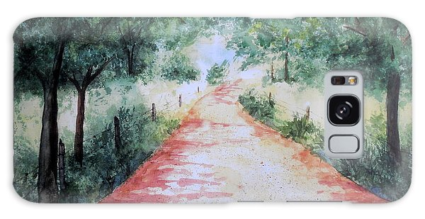 A Country Road Galaxy Case by Vicki  Housel