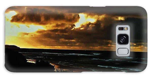 A Stormy Sunrise Galaxy Case by Blair Stuart
