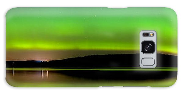 Aurora Over The Beauly Firth Galaxy Case