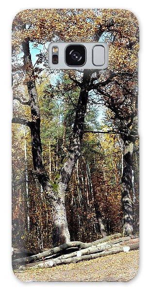 Autumn In Forest Galaxy Case by Henryk Gorecki