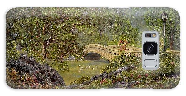 Bow Bridge Central Park Galaxy Case