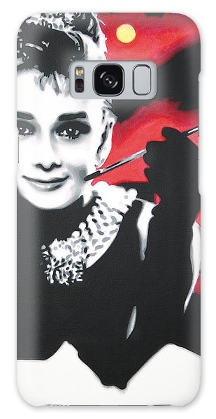 - Breakfast At Tiffannys -  Galaxy Case by Luis Ludzska