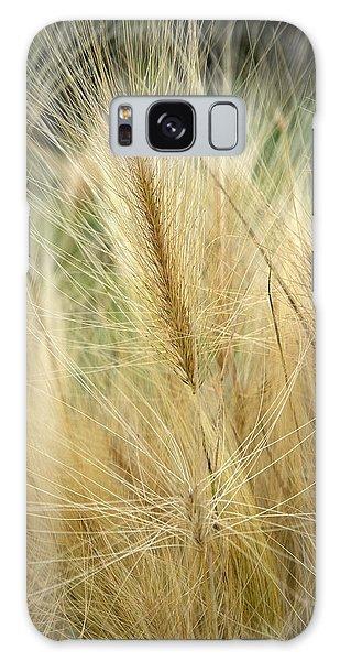 Foxtail Barley Galaxy Case by Jouko Lehto