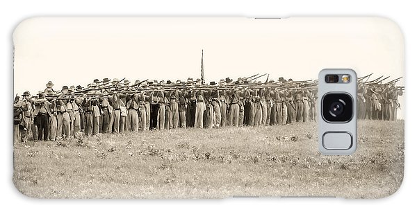 Gettysburg Confederate Infantry 0157s Galaxy Case