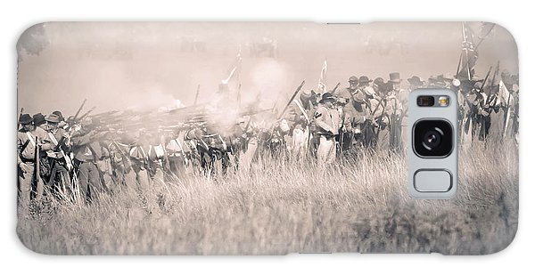 Gettysburg Confederate Infantry 9112s Galaxy Case