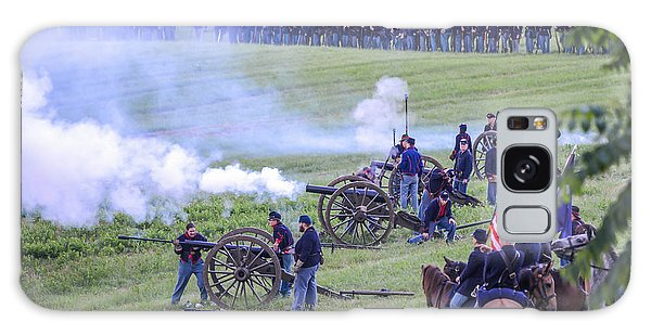 Gettysburg Union Artillery And Infantry 7439c Galaxy Case