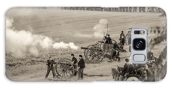 Gettysburg Union Artillery And Infantry 7439s Galaxy Case