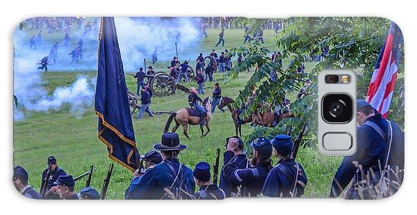 Gettysburg Union Artillery And Infantry 7459c Galaxy Case