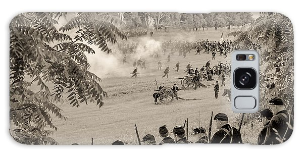 Gettysburg Union Artillery And Infantry 7465s Galaxy Case