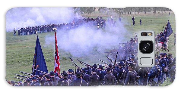 Gettysburg Union Artillery And Infantry 7496c Galaxy Case