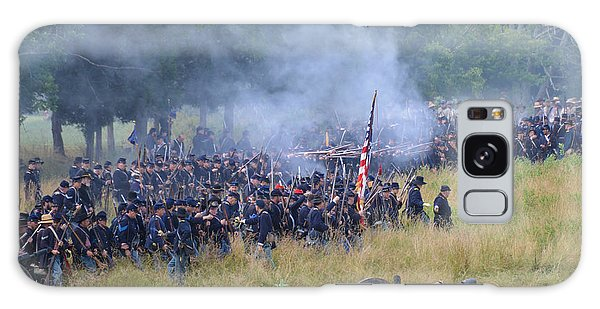 Gettysburg Union Artillery And Infantry 8456c Galaxy Case