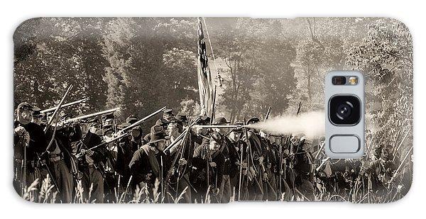 Gettysburg Union Infantry 9372s Galaxy Case