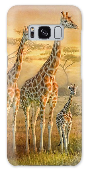 Giraffe Family Galaxy Case