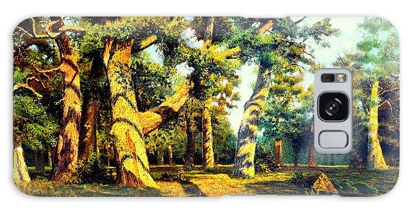 Green Summer-the Oak Forest Galaxy Case by Henryk Gorecki