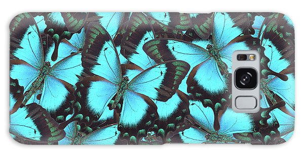 Green Swallowtail Butterfly Galaxy Case