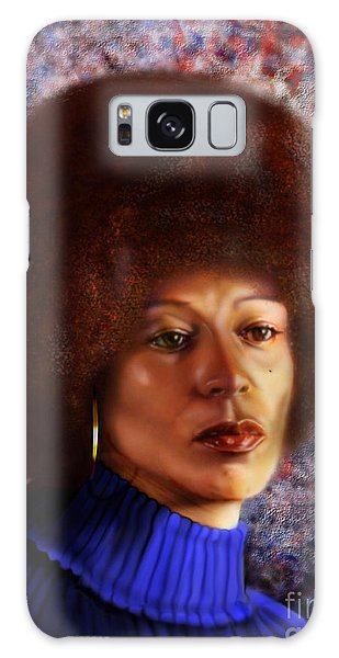 Impassable Me - Angela Davis1 Galaxy Case