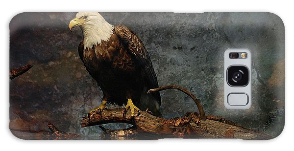 Magestic Eagle  Galaxy Case by Elaine Manley