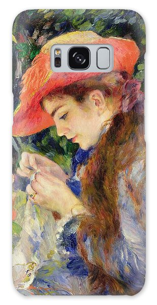 Marie Galaxy Case -  Marie Therese Durand Ruel Sewing by Pierre Auguste Renoir