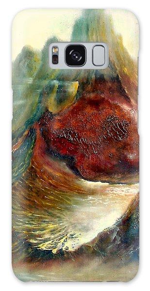 Mountains Fire Galaxy Case by Henryk Gorecki