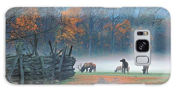 Oconaluftee Visitor Center Elk Galaxy Case