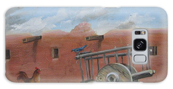 Old Spanish Cart  Galaxy Case by Oz Freedgood