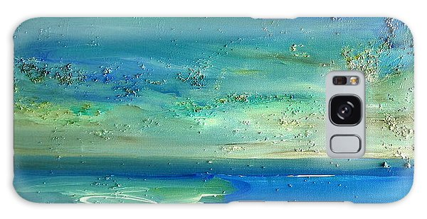 Pearls Of Tranquility Seascape 1 Galaxy Case by Dolores  Deal